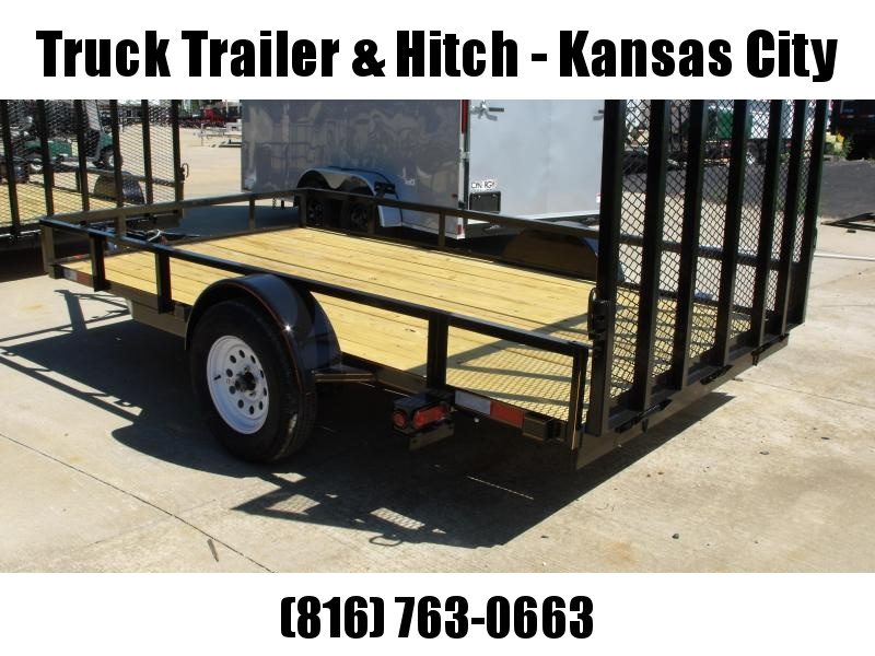 """Utility Trailer  82"""" X 12  Spring Assisted Gate 2990 Axle"""