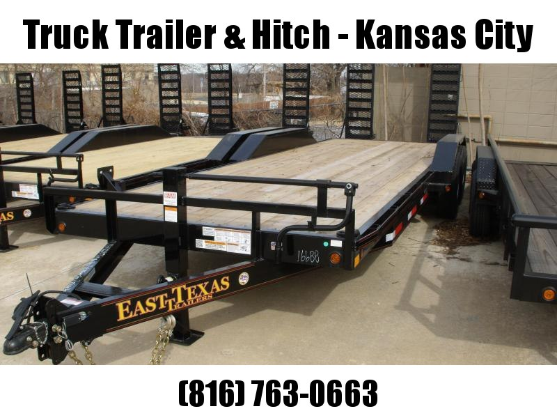 "Eqpt Trailer 83 X 24   """"Drive Over Fenders """"""Combo Ramps  14000 GVW"
