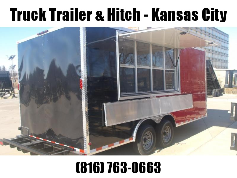 8.5 X 18   Concession Trailer Vending / Concession Trailer