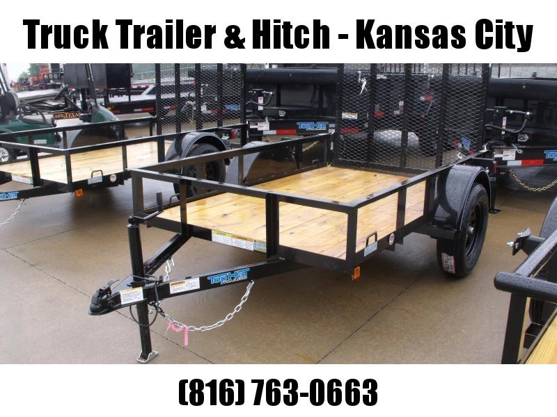 Utility Trailer 5 X 8   Ramp 2990 Axle Front & Rear Folding Gate