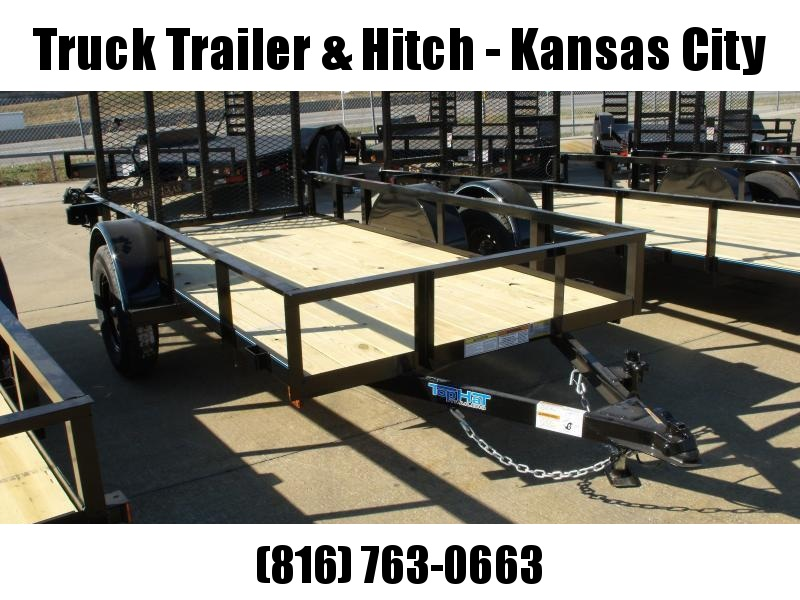 Utility Trailer 5 X 10  HD Spring Assisted Gate 2990 Axle
