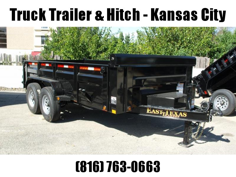 "Dump Trailer  83 X 14  I-Beam Type 8""    12000 Gvw Tarp Included  Inverted Scissor Hoist 2' Walls  14 Ply Tires"