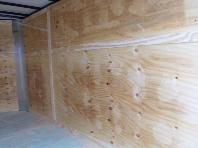 "Enclosed Trailer 6 X 12 Ramp  DOORS  6' 6"" Interior All Tube Construction"