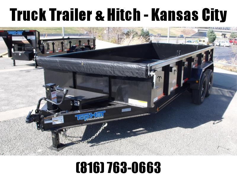 Dump Trailer 83 X 16  Power Up/ Power Down    14000 GVW   Dump Trailer