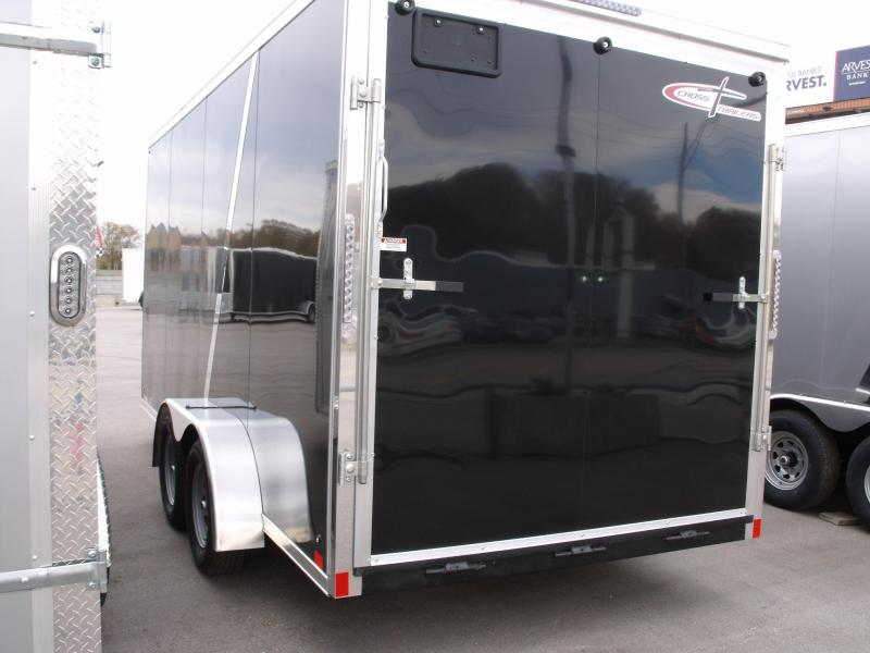 Enclosed Trailer 7 X 16 Ramp 7000 GVWR 7' Interior