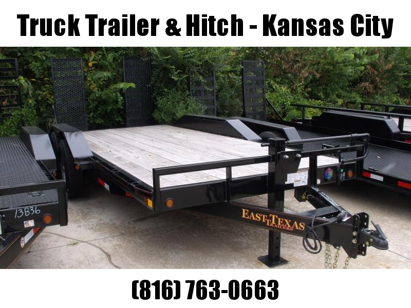 "Eqpt Trailer 83 X 18   """"Drive Over Fenders """"""Combo Ramps  14000 GVW"