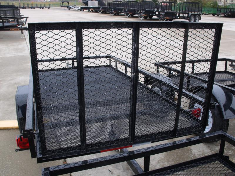 Utility Trailer 4 X 8 Mesh Floor Rear Gate