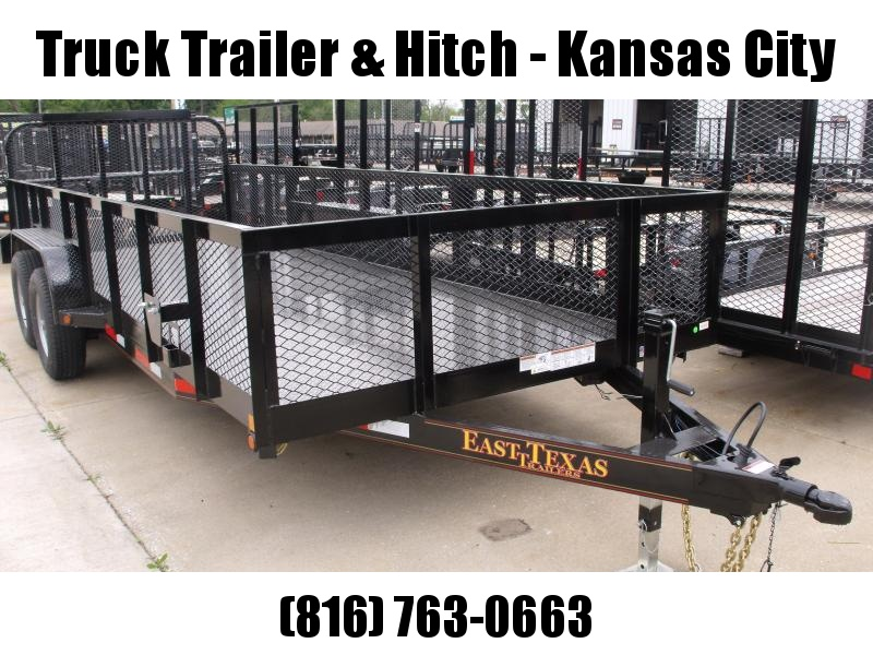 High-Wall Trailer  83 X 20 Landscape Trailer Steel Trailer 12000 GVW