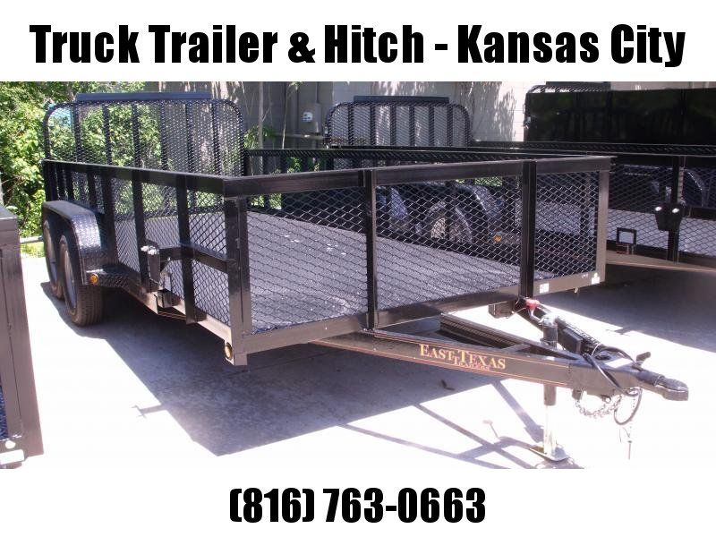 High-Wall  Metal Trailer Landscape Trailer 83 X 18  Ramp 7000 GVW