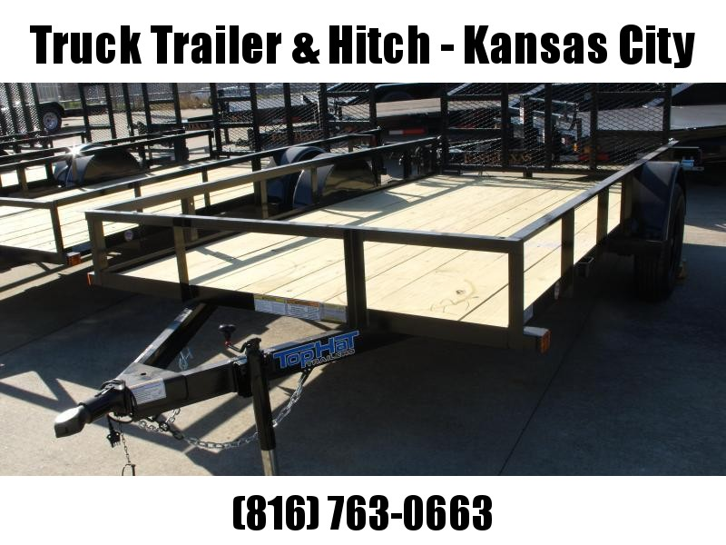 Utility Trailer 77 X 12  HD Spring Assisted Gate 2990 Axle