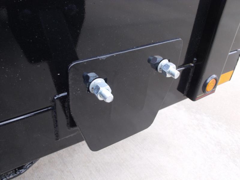 Dump Trailer 83 X 12 Scissor 12000 GVW Tarp Included  Wireless Remote Included