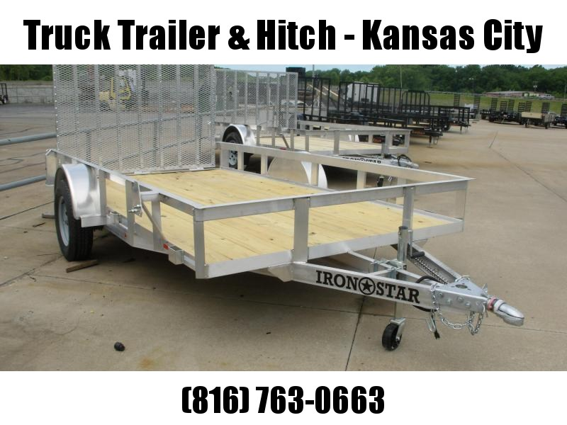 Aluminum 77 X 12 Utility Trailer With Ramp