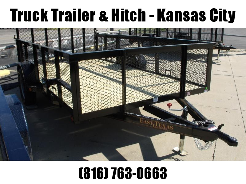 High-Wall Landscape Trailer 77 X 12 Spring Assisted Gate