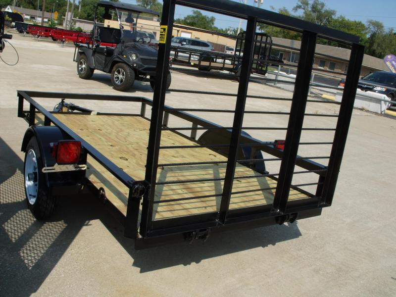 Economy   Trailer 4 X 8  Ramp Trailer 1500 LB Axle