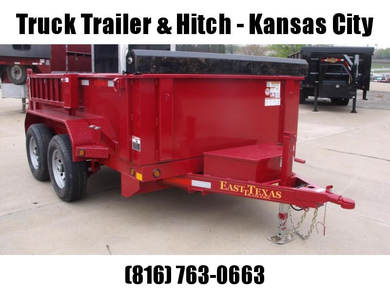 Dump Trailer 77 X 10  Spreader Gate 9990 GVW  ((Tarp Included ))4 Wheel Brakes