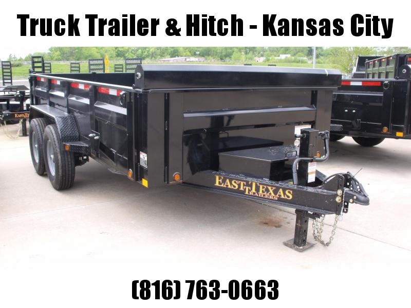 Dump Trailer  83 X 14 Scissor Lift  I-Beam Type 14000 Gvw Wireless Remote  Tarp Included 14 Ply Tires