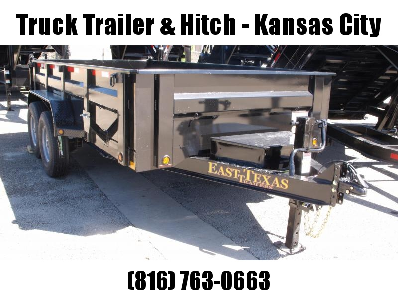 Dump Trailer  83 X 14  I-Beam Type 14000 Gvw Tarp Included Remote Wireless Included