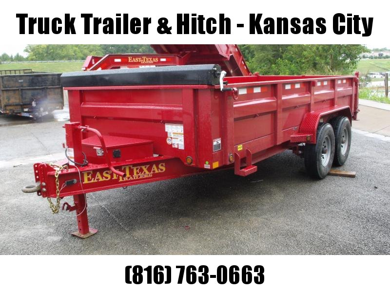 "Dump Trailer  83 X 16  I-Beam Type 8""    16000 Gvw Tarp Included 20K Inverted Scissor Hoist"