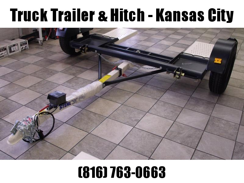 """NEW  Stehl Tow  2021    Tow Dolly  Electric Brakes  80"""""""