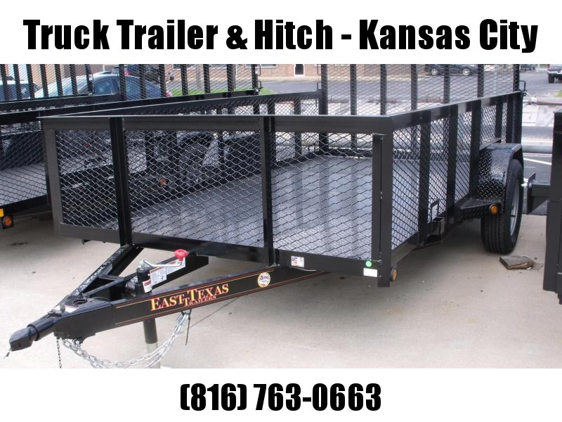 High-Wall Trailer 77 x 12 All Steel Trailer Mesh Sides  2990 Axle