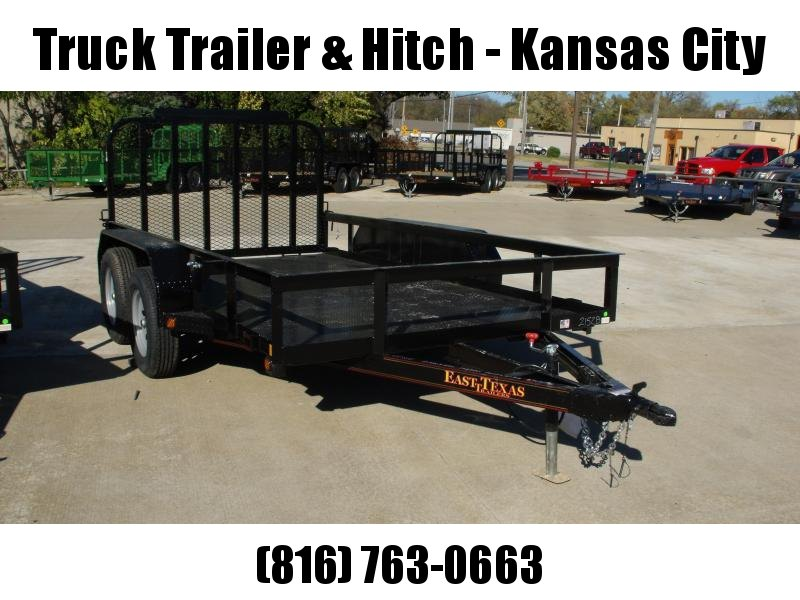 Utility Trailer  77 X 12  Metal Deck With Tube Ramp    7000 GVW Brakes