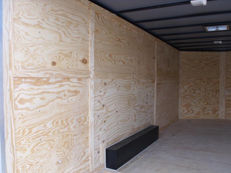 Enclosed Trailer 8.5 X 20  Dove Ramp 7' Interior Charcoal In Color Ramp Door  9990  GVWR