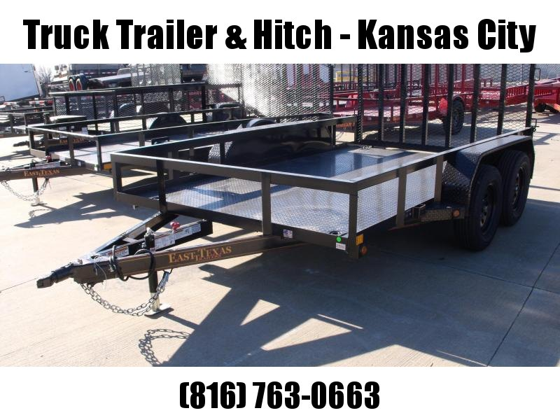 Utility Trailer  83 X 12  Metal Deck With Tube Ramp    7000 GVW Brakes