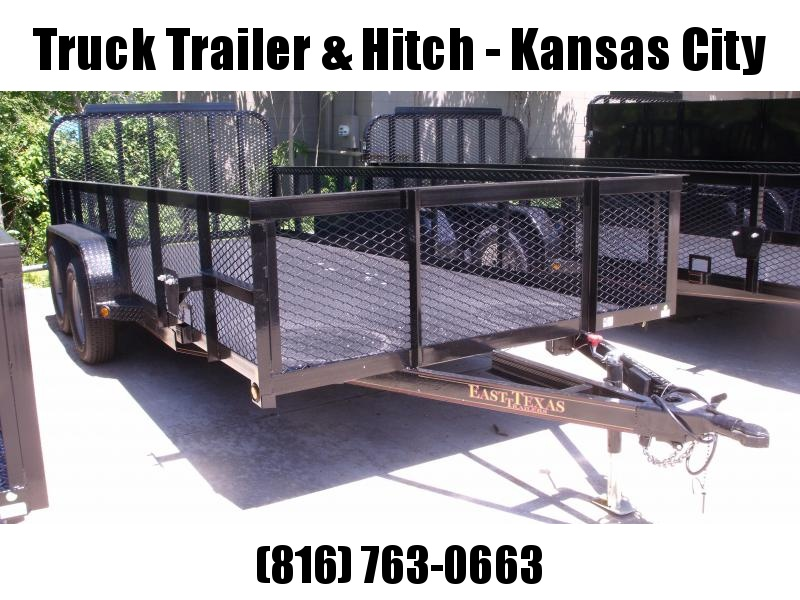 High-Wall  Metal Trailer Landscape Trailer 83 X 16  Ramp 7000 GVW