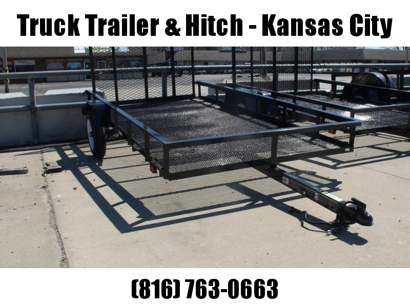 Utility Trailer 5 x 10  Mesh Floor Rear Gate