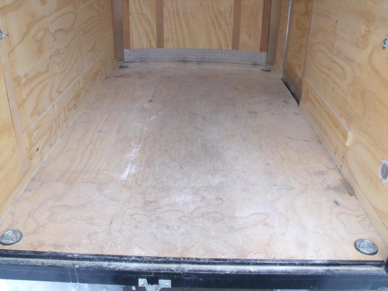 Used Enclosed Trailer 6 X 10 Barn Door 6.5 Interior 2990Axle