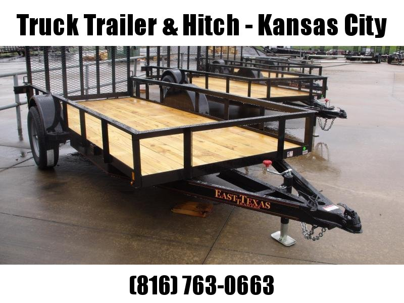 Utility Trailer 5 X 12 Ramp 2990 Axle Wrapped Tongue