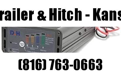 18 Amp Panel Mount Battery Charger & Tester for 12V Trailer Batteries