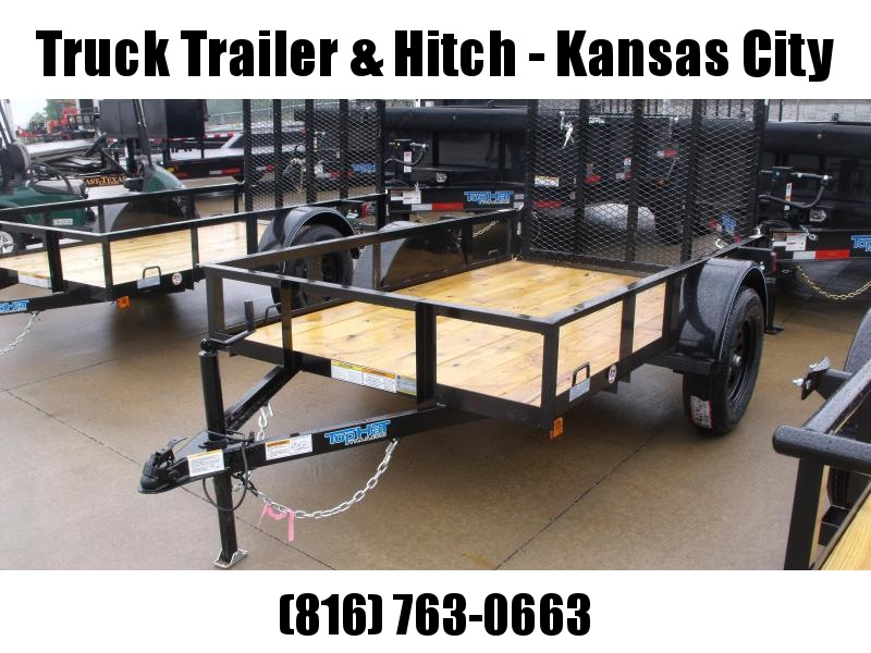 Utility Trailer 5 X 8   Ramp 2990 Axle
