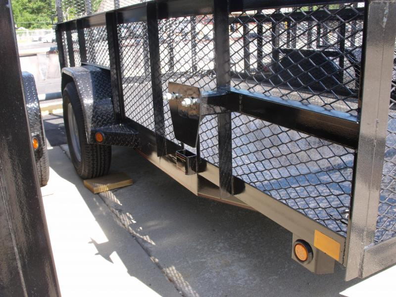 High-Wall Trailer 72 x 12 All Steel Trailer Mesh Sides  2990 Axle