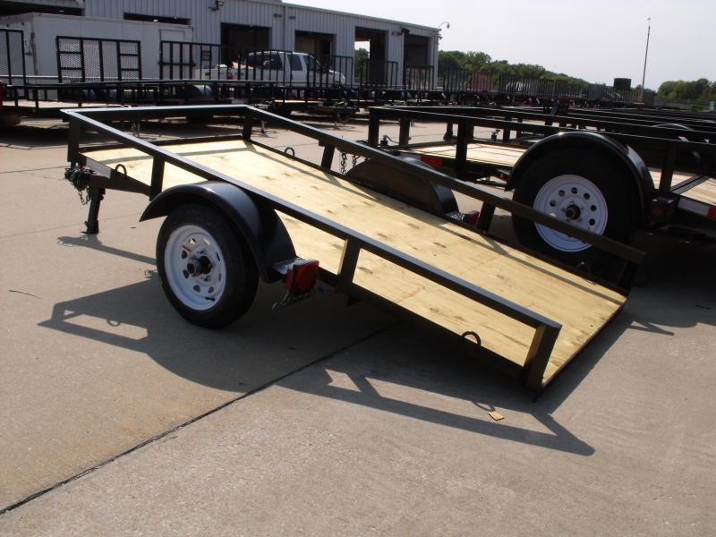Economy  Tilt Trailer 4 X 8    Tilt Trailer 1500 LB Axle