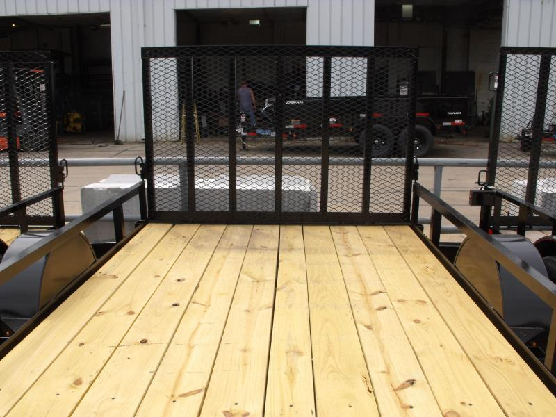 """Utility Trailer  76"""" X 12  Spring Assisted Gate 2990 Axle"""