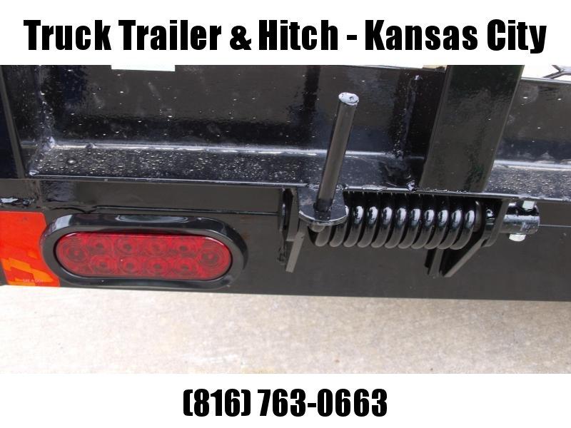 High-Wall Trailer 77 x 12 Utility Trailer Mesh Sides  2990 Axle