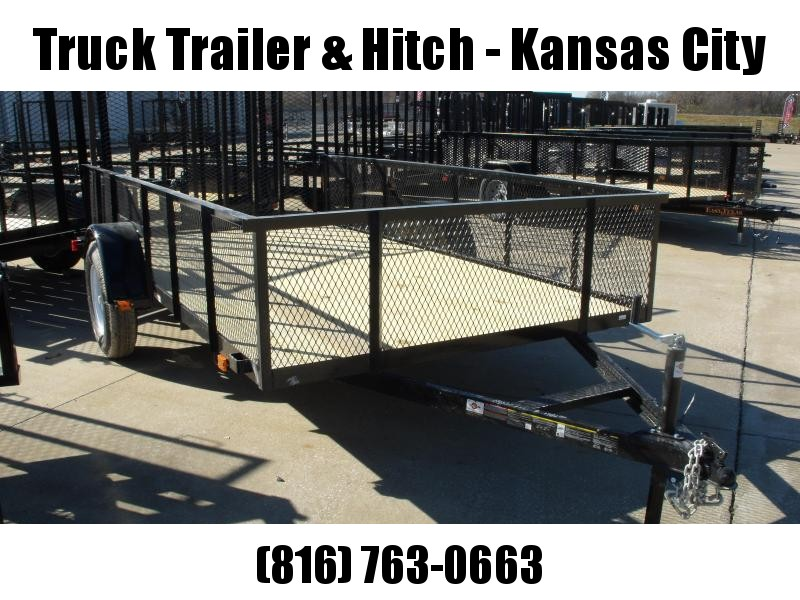 Utility Trailer Hi-Wall 6 X 12 Wood Deck  Trailer With  Ramp 2990 Axle