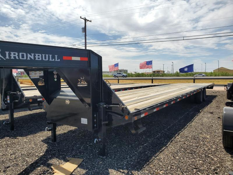 SOLD -  2019 Iron Bull FLG0240102 Equipment Trailer