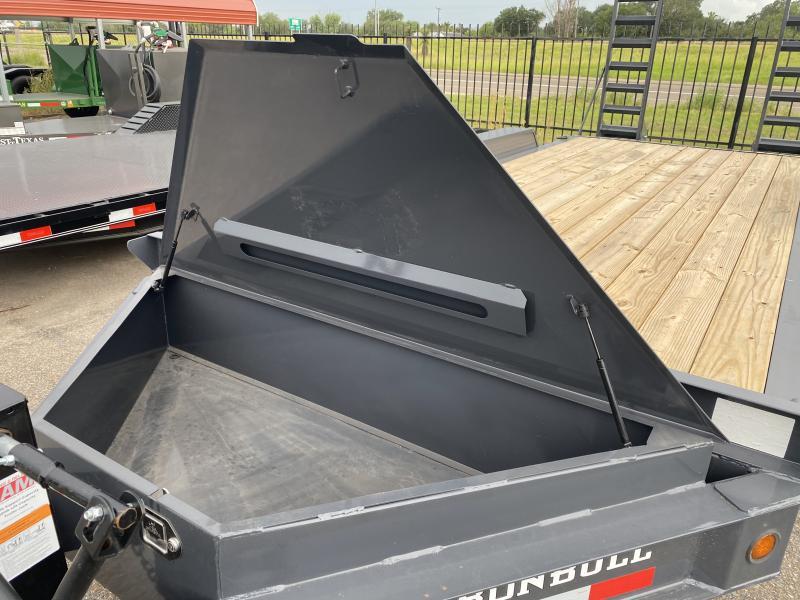 2021 Iron Bull EWB 83x20 Equipment Trailer 14k