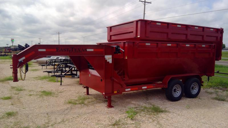 2020 East Texas 14ft Roll Off Dump Trailer