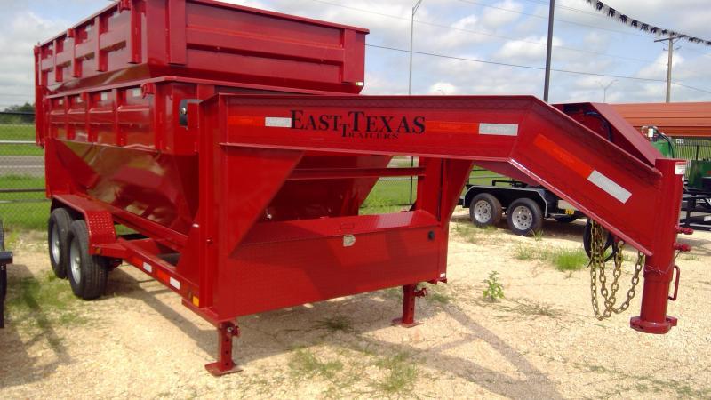 2020 East Texas 14ft Roll Off Dump Trailer