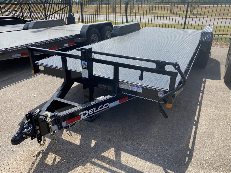 2021 Delco Trailers 83x20ft Medium Duty Car Hauler