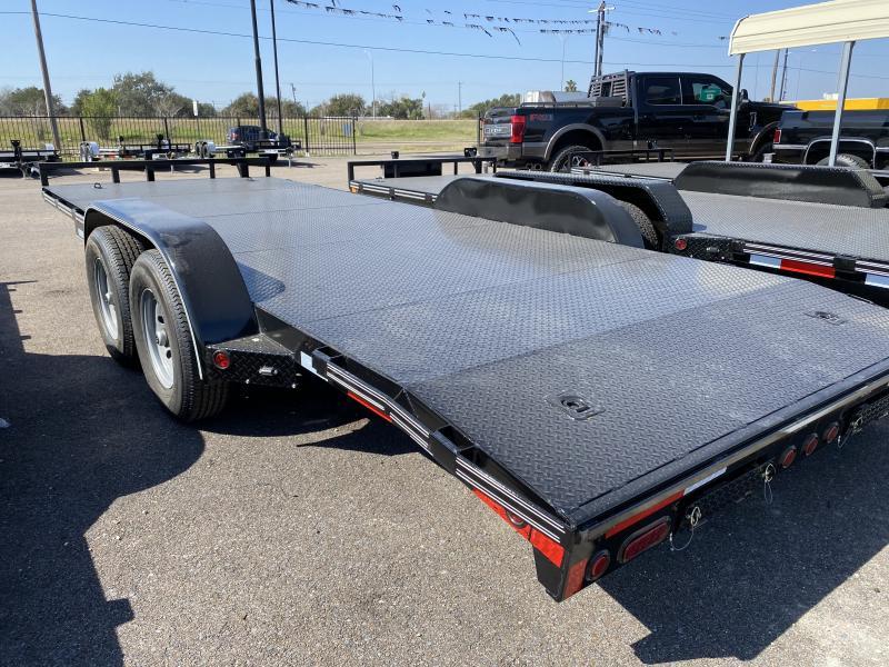 2021 East Texas 83x20 12k Car Hauler Trailer