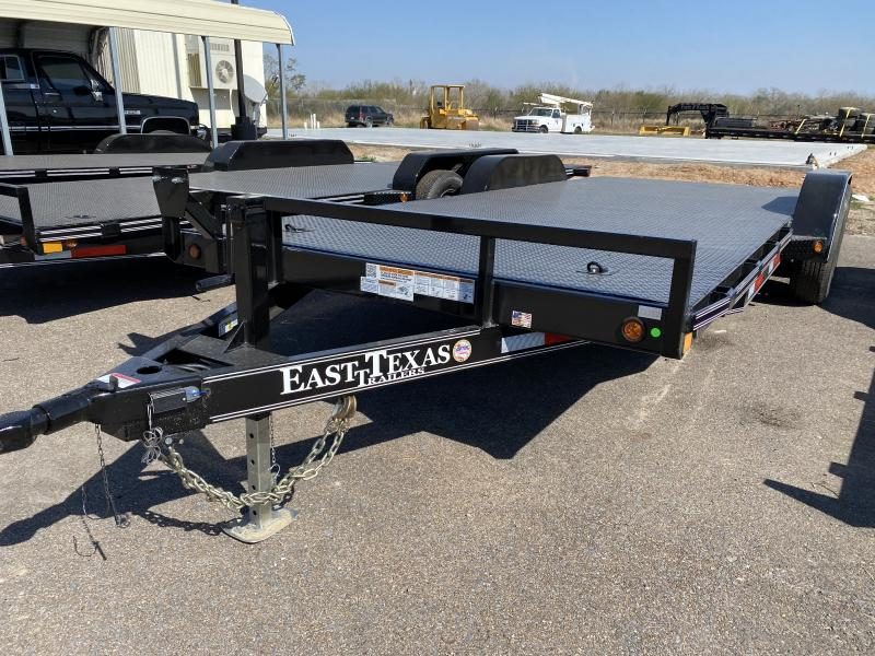 2021 East Texas 83x20 12k Car Hauler Trailer