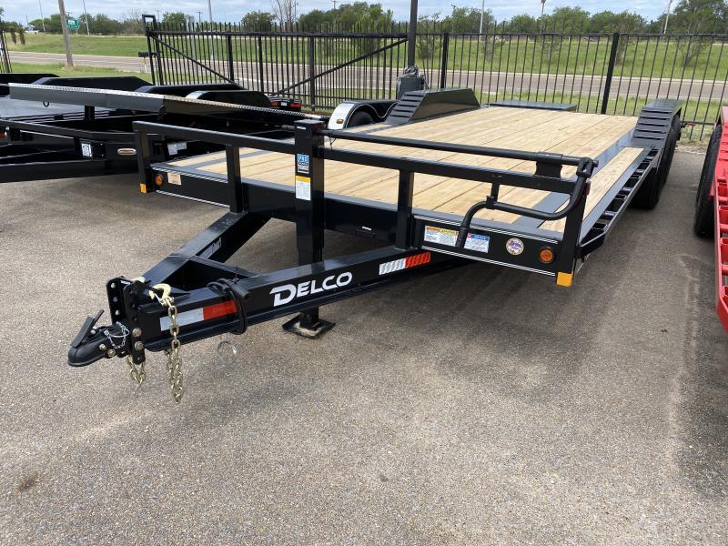2021 Delco Trailers 102x22 14k Equipment Trailer
