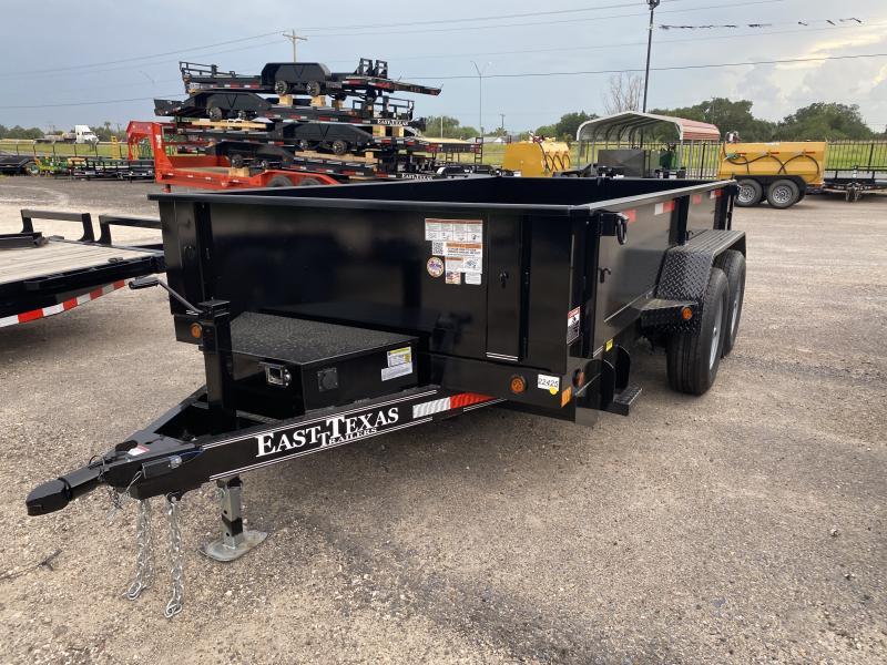 2021 East Texas 77x12 Dump Trailer 10k