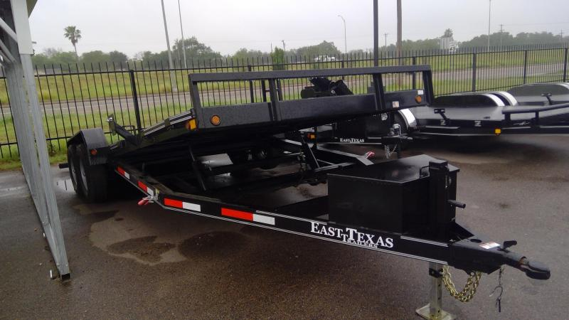 2020 East Texas 20ft Hyd Tilt Car / Racing Trailer