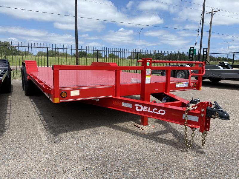 2021 Delco Trailers 102x20 14k Car / Racing Trailer