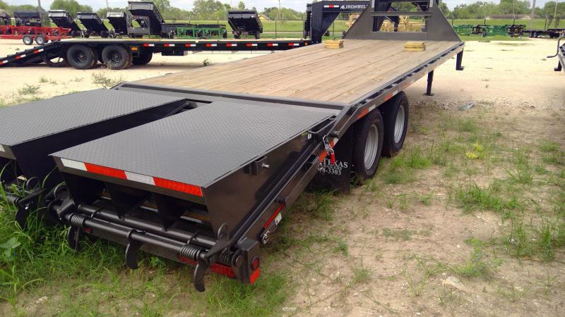 2020 East Texas 102x25 Flatbed Trailer 22k